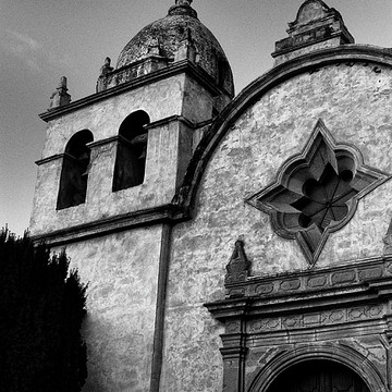 Spanish Style Mission Architecture Photography Collection