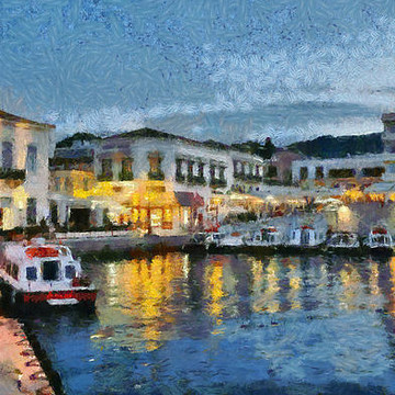 Spetses island paintings Collection