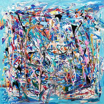 Splatter paintings