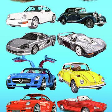 Sport Car Art Collection