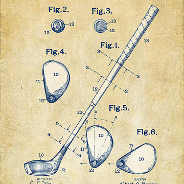 Sports Patents and Athletic Art Collection