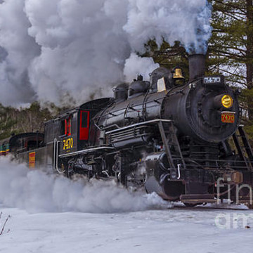 Steam In The Snow. Collection