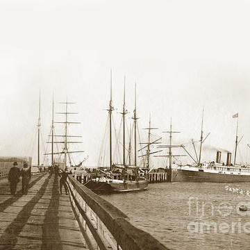 Steam Schooner on the Pacific Coast Collection