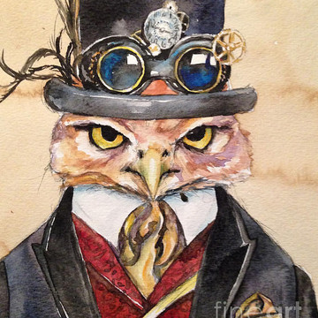 Steampunk Paintings Collection