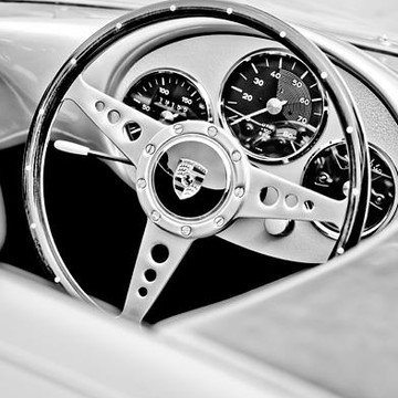 STEERING WHEELS - bw - sepia - antique color - antique bw Collection