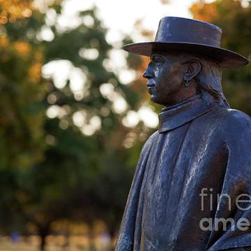 Stevie Ray Vaughan SRV Memorial Statue on Lady Bird Town Lake Austin