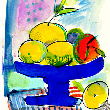 Still life and fruits Collection