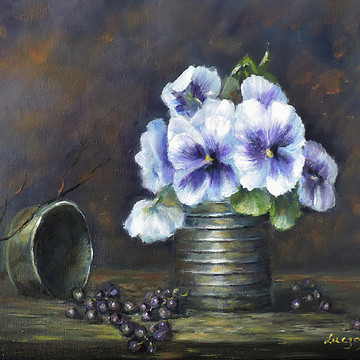 Still life florals classical realism Collection