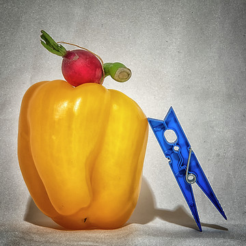 Still Life with Yellow Pepper Collection
