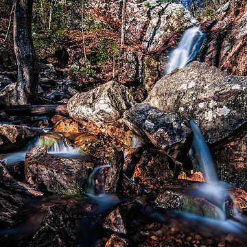 Stream and Waterfall Photography Collection