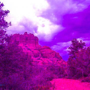 Surreal Red Rocks in Sedona Arizona Collection