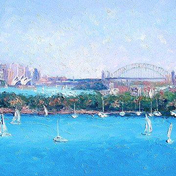 Sydney Harbour Bridge and Opera House Art Collection