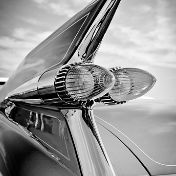 TAIL LIGHTS - bw - sepia - antique color - antique bw Collection