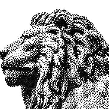 Technical Pen Pixel Art