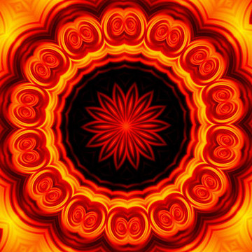 Tequila Sunrise Mandala Series Collection