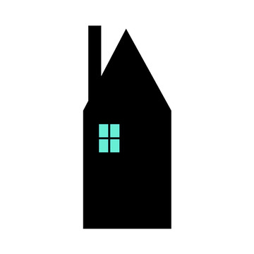 The House With The Turquoise Light On Series  Collection