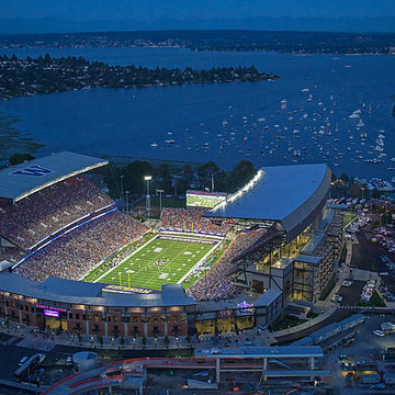 The New Husky Stadium