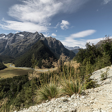 The Routeburn Track NZ. Collection