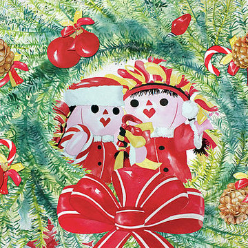 The Talavera Twins-Christmas Card Collection Collection