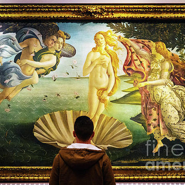 The Uffizi Gallery Florence Italy