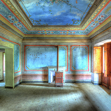 THE VILLA WITH THE COLORED ROOMs - LA VILLA DEI SALONI COLORATI Collection