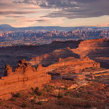 The White Rim Canyonlands National Park