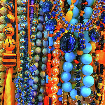 Thrift Store Necklaces Collection