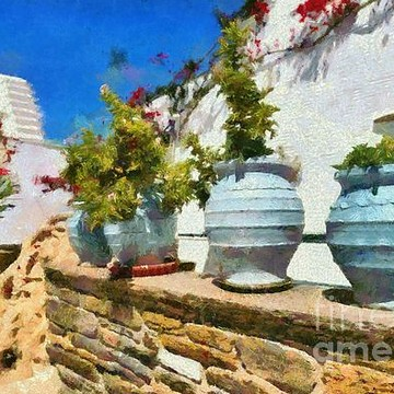 Tinos island paintings Collection