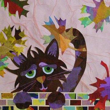 Tissue Paper Collage Art for Children