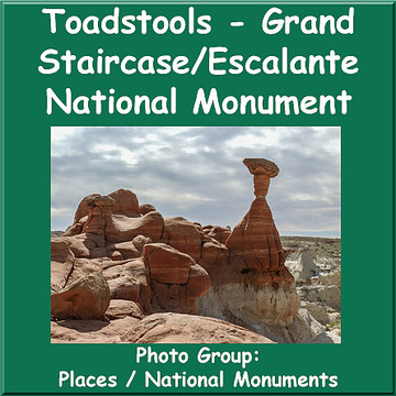 Toadstools Grand Staircase Escalante National Monument Collection