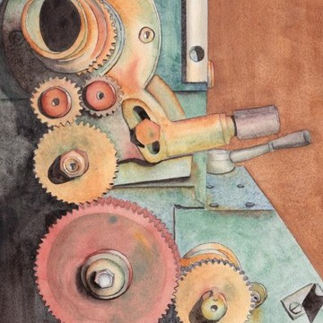 Tool and Machinery Paintings