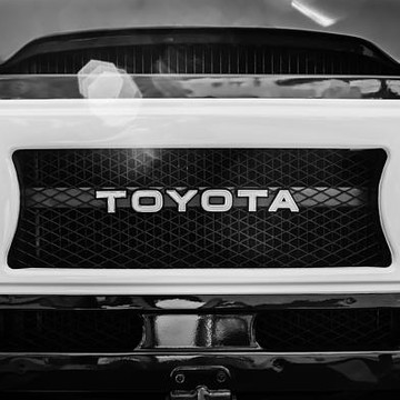TOYOTA - bw - sepia - antique color - antique bw Collection