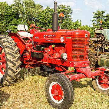 Tractors and farm machines