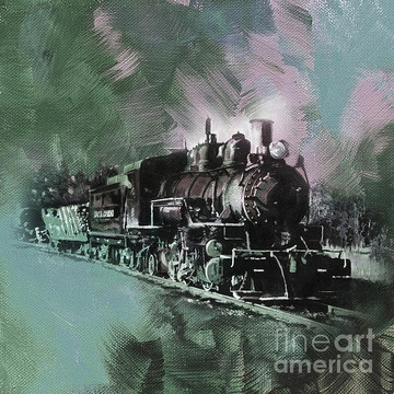 Train Art Collection