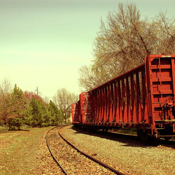Transportation and Train Tracks Collection
