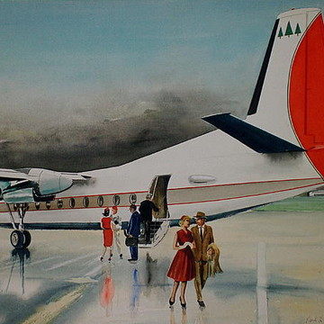 Transportation Paintings Collection