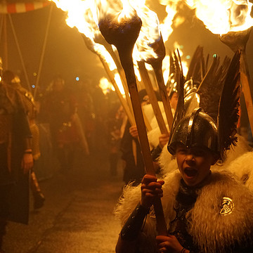 Up- Helly- Aa at Lerwick on the Shetlands Collection