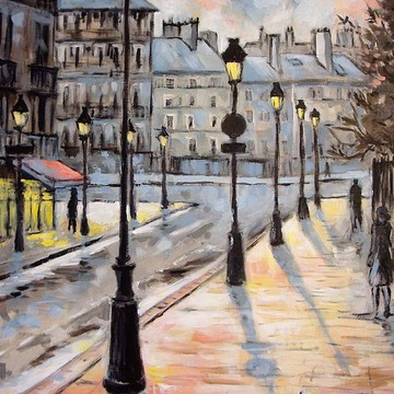 Urban scenes Paintings Collection