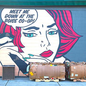 Urban Street Graffiti Photography