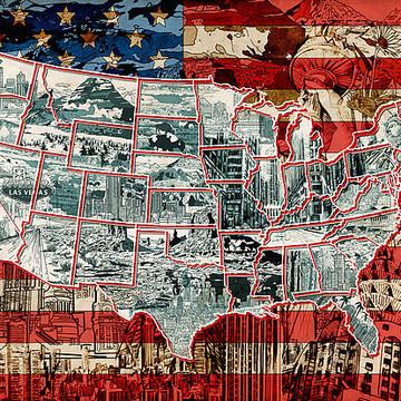 USA Map Collection