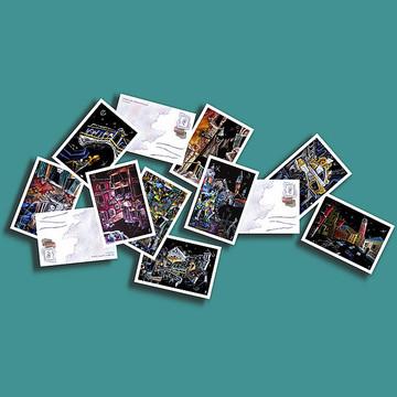 Venice Art Postcards Collection