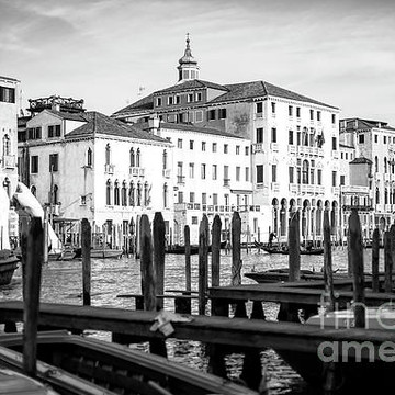 Venice Italy - Black and white Collection