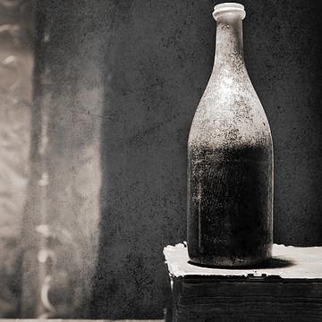 Vintage beer bottles. Collection