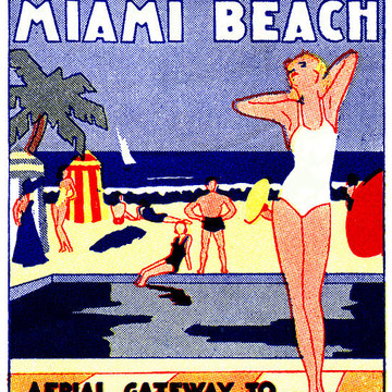 Vintage Florida Posters Collection