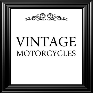 Vintage Motorcycle Collection Collection