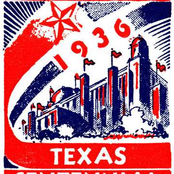 Vintage Texas Posters Collection