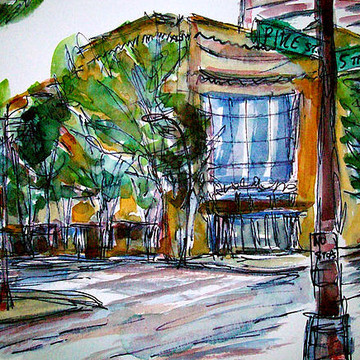 Watercolor & Ink Wash Paintings Collection