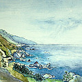 Watercolor Beach Prints  Collection