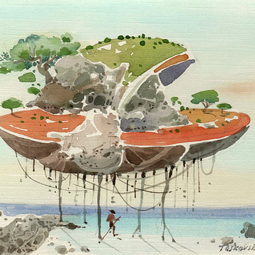 Watercolor sketches Collection