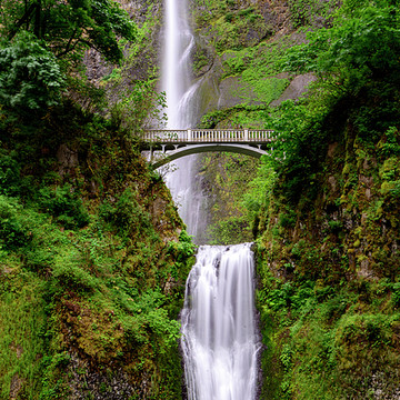Waterfall in the Pacific Northwest Collection